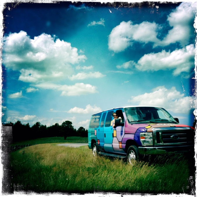 Travels with the van